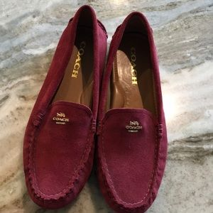 Coach suede Women's loafers